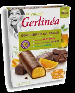 Batoane ciocolata cu crema portocale Gerlinea 372g