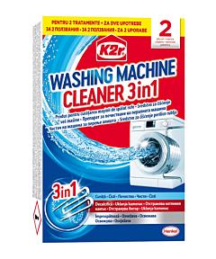 Tratament anticalcar K2r Washing Machine Cleaner, 2buc