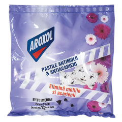 Pastile parfumate impotriva moliilor Aroxol, 16bucati