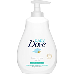 Lotiune spalare Dove Baby Sensitive 400ml