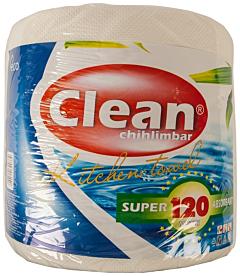 Rola hartie chihlimbar Clean 120m