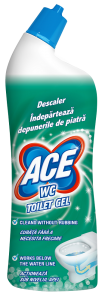Gel WC decalcifiant Ace, 700 ml