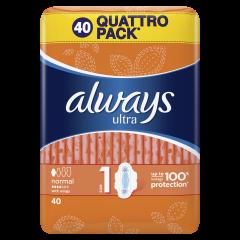 Absorbante Always Ultra Normal, 40 buc