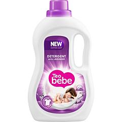 Detergent rufe lichid Teo Bebe Cotton Soft Lavender, 20 spalari, 1.1l