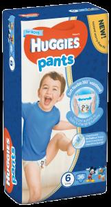 Scutece Pants nr 6 Boy, 16-22 kg, 36 bucati, Huggies