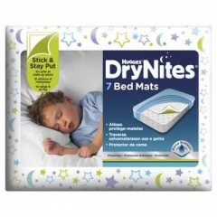 DryNites Bed Mats protectie pentru pat 7buc Huggies