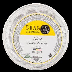 Salata cu icre de crap si ceapa Drag de Romania 100g