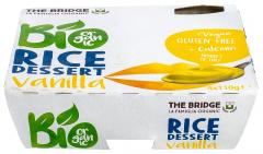 Desert ecologic din orez cu vanilie The Bridge 4x110g