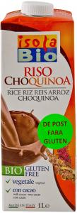 Bautura ecologica din orez Isola Riso Choquinoa 1L
