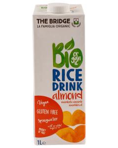 Bautura ecologica din orez cu migdale The Bridge 1l
