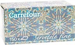 Servetele cutie Carrefour 2straturi 150bucati