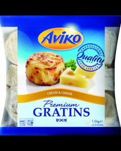 Cartofi gratinati cu smantana si branza Aviko 1.5Kg