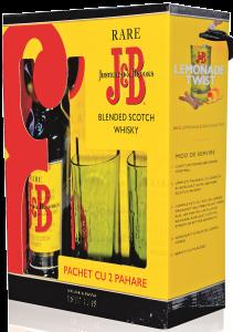 Set cadou Whiskey J&B