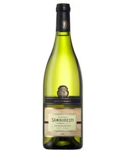 Vin alb sec Domeniile Samburesti Chardonnay 0.75L