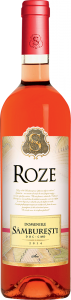Vin rose sec Domeniile Samburesti 0.75L