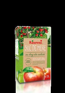 Suc natural de mere Raureni 3L