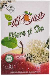Suc de mere si soc Aroma 3 l