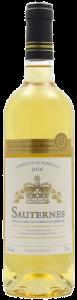 Vin blanc Sauternes Cave d'Augustin Florent 0.75L