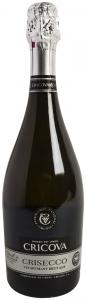Vin spumant alb brut Cricova Crisecco 0.75L