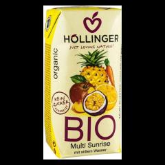 Suc ecologic de fructe Multi Sunrise 200 ml