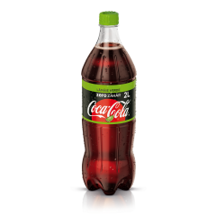 Coca-Cola Lime Zero Zahar 2L PET