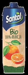 Suc de portocale Santal bio 1 l
