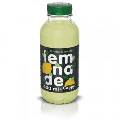 Bautura racoritoare necarbogazoasa cu suc si pulpa de lamaie si gust de menta Cappy 400ml