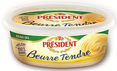 Unt semisarat 80%grasime President 250g