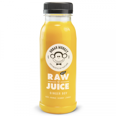Suc raw ginger boy Bio Urban Monkey 250 g