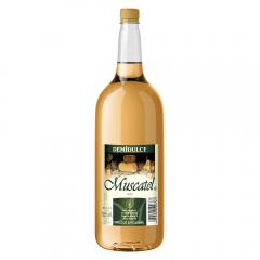 Vin alb demidulce Muscatel 2L