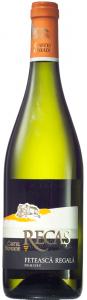 Vin alb demisec Castel Huniade Recas 0.75L