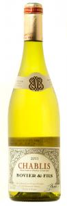 Vin alb sec Chablis Bovier Chardonnay 0.75L