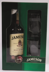 Pachet Jameson Irish Whiskey 700ml + 2 Pahare
