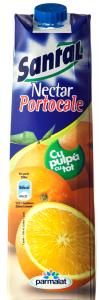 Nectar cu pulpa de portocale Santal 1L