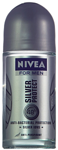 Deo roll-on anti-perspirant Nivea for Men Silver Protect 50ml