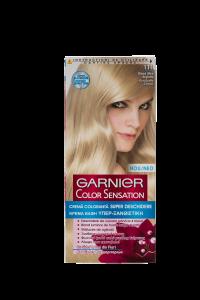 Vopsea de par Garnier Color Sensation 111 Blond Ultra Argintiu