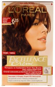 Vopsea de par L'Oreal Excellence Creme 635 - Maro Ciocolata