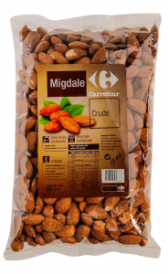 Migdale crude Carrefour 500g