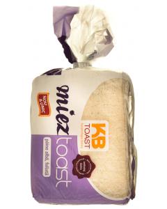Paine fara coaja toast cu faina alba feliata KB Toast 300g