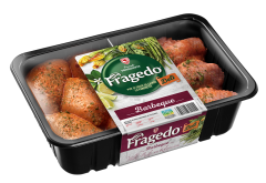 Mix de pulpe dezosate si aripioare marinate Fragedo