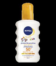 Spray protectie solara SPF50+ Nivea Sun Kids 200ml