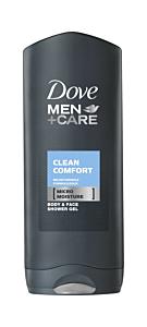 Gel de dus Dove Men+Care Clean Comfort Caring Formula Micromoisture 400ml