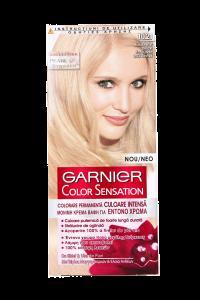 Vopsea de par Garnier Color Sensation 10.21 Blond Perlat Delicat