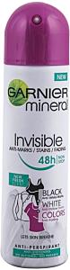 Deodorant spray Garnier Mineral Invisible