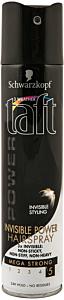 Fixativ Taft Invisible Styling 250 ml