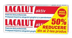 Pasta de dinti Aktiv 1+1 -50%gratis Lacalut