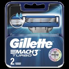 Rezerva Match 3 Turbo 2 buc Gilette
