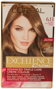 Vopsea de par light frosted brown Excellence L'Oreal Paris 1 buc