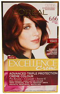 Vopsea de par L'Oreal Excellence 6.66 - Intense Red