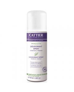 Deodorant spray Brume Active Cattier 100ml